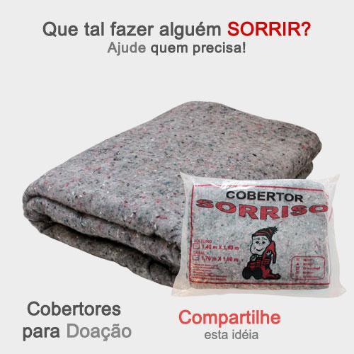 Cobertores para Doação