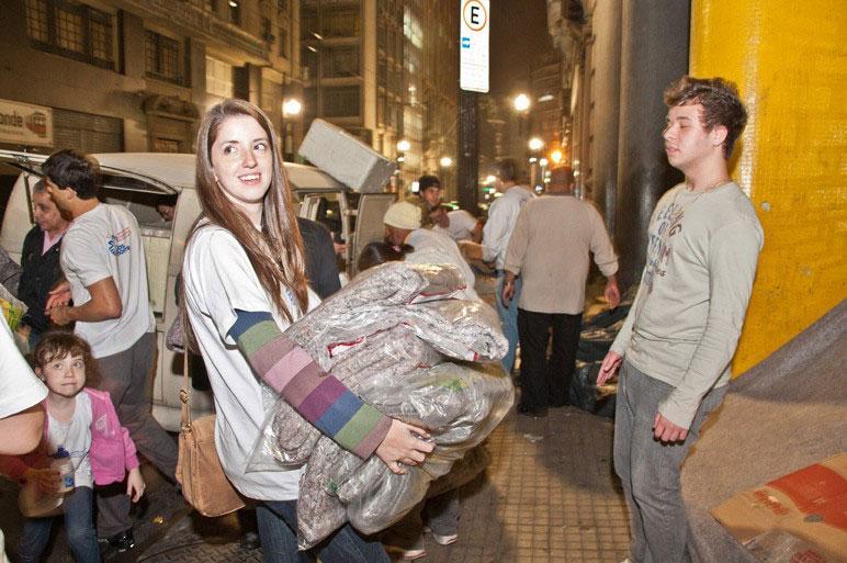 Cobertores para doação preço