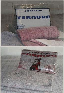 Fábrica de Cobertores para Doação