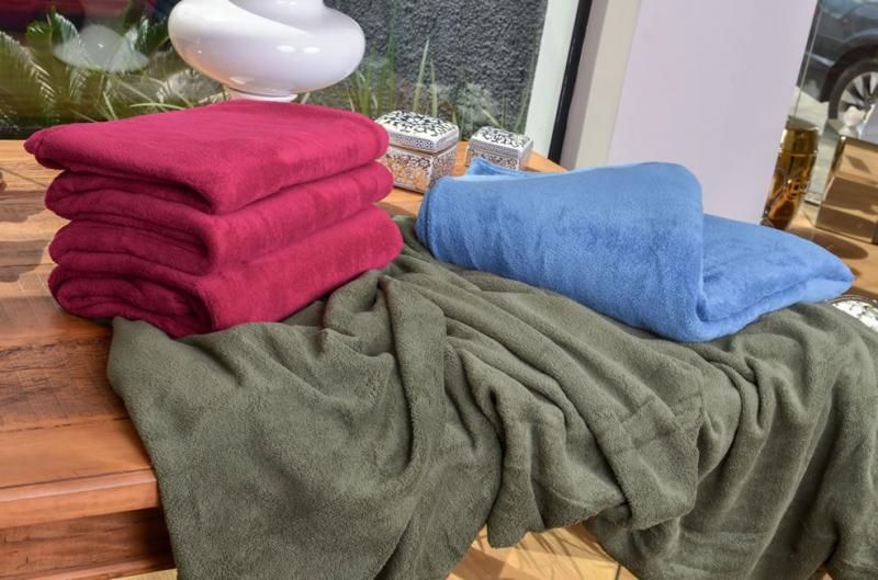 Cobertor Microfibra em Promoção