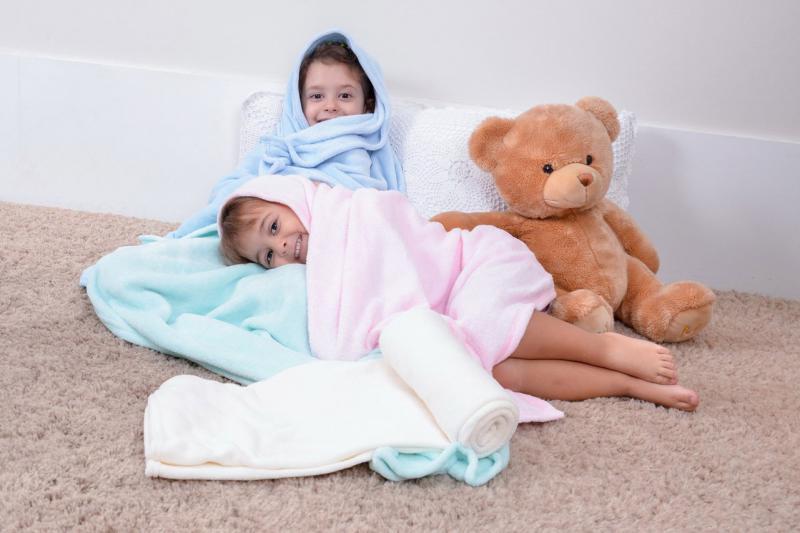 Cobertores de Microfibra Infantil