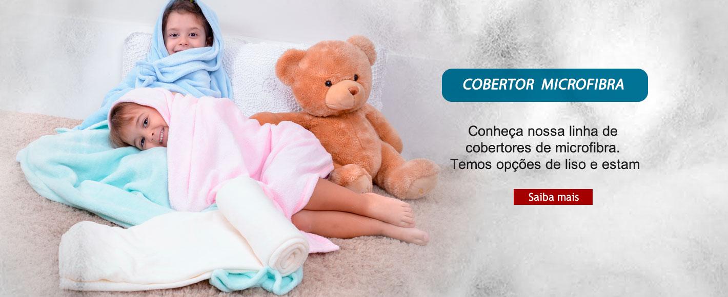 Cobertores Microfibra